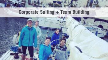 Corporate Sailing + Team Building